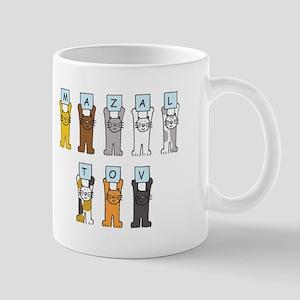 Mazal Tov Cats Mugs