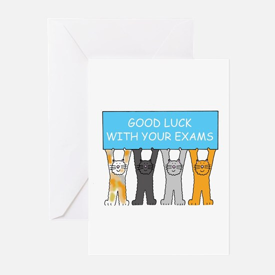 Good luck on exam stationery cards invitations greeting cards more good luck with your exams greeting cards m4hsunfo