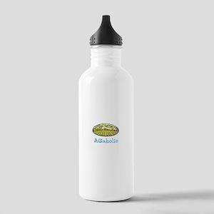 AGaholic (fields) Water Bottle
