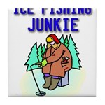 IceFishingJunkie Tile Coaster
