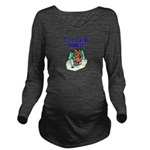 IceFishingJunkie Long Sleeve Maternity T-Shirt