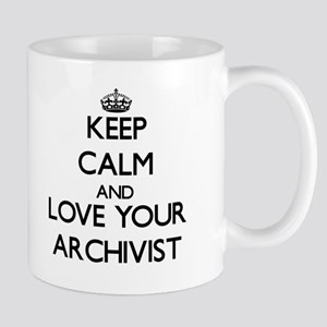 Keep Calm and Love your Archivist Mugs