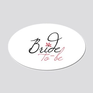 Bride to - be Wall Decal