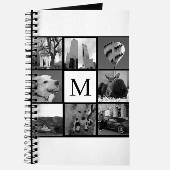 Monogrammed Photo Block Journal