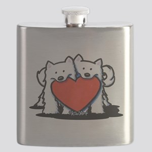 German Spitz Duo Flask