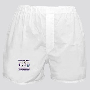 Memory Walk ALZHEIMERS AWARENESS Boxer Shorts