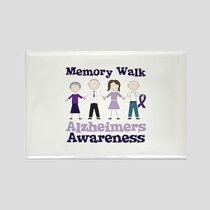 Memory Walk ALZHEIMERS AWARENESS Magnets
