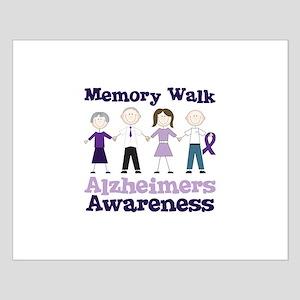 Memory Walk ALZHEIMERS AWARENESS Posters