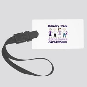 Memory Walk ALZHEIMERS AWARENESS Luggage Tag