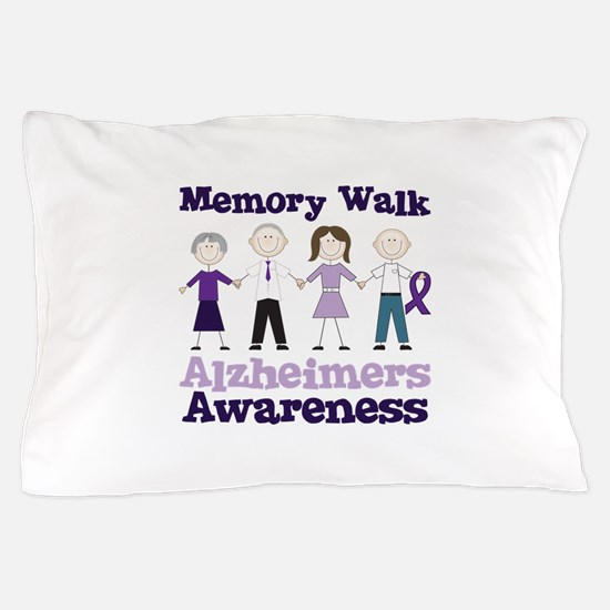 Memory Walk ALZHEIMERS AWARENESS Pillow Case