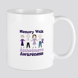 Memory Walk ALZHEIMERS AWARENESS Mugs
