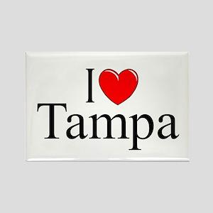 """I Love Tampa"" Rectangle Magnet"