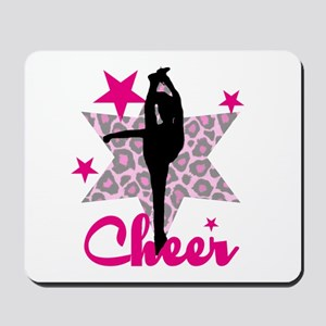 Pink Cheerleader Mousepad