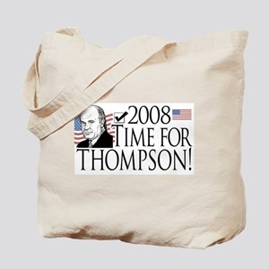 Fred Thompson Time Tote Bag