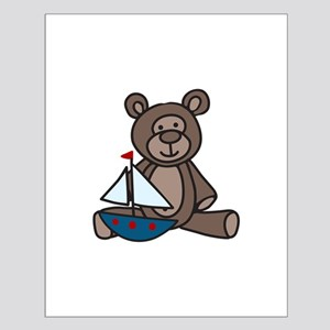 Bear And Boat Posters