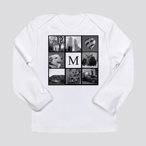 Monogrammed Photo Block Long Sleeve T-Shirt
