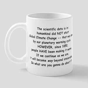 Scientific Data Is In... Mug