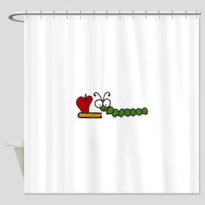 Caterpillar Shower Curtain