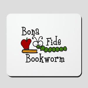 Bonafide Bookworm Mousepad