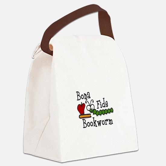 Bonafide Bookworm Canvas Lunch Bag