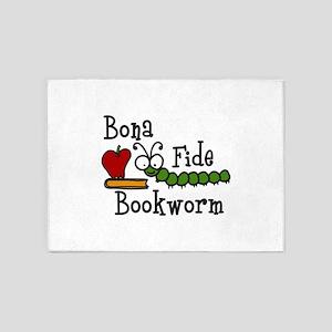 Bonafide Bookworm 5'x7'Area Rug