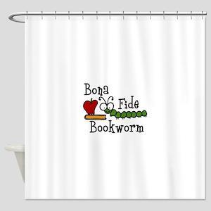 Bonafide Bookworm Shower Curtain
