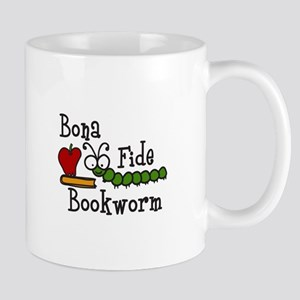 Bonafide Bookworm Mugs