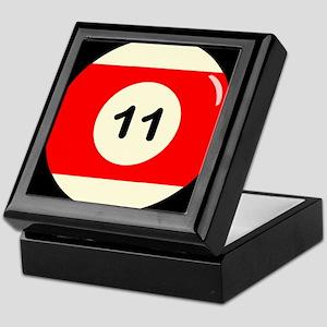 Eleven Ball Keepsake Box