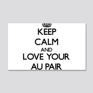 Keep Calm and Love your Au Pair Wall Decal