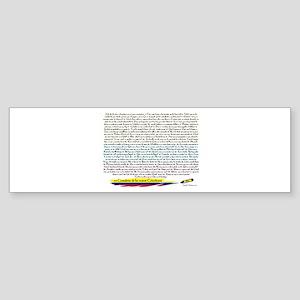 70 cantaletas madre Colombiana Bumper Sticker