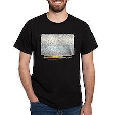 70 cantaletas madre Colombiana Dark T-Shirt