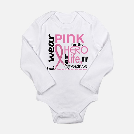 Hero In Life 2 Breast Cancer Infant Bodysuit Body