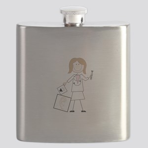 female audiologist Flask