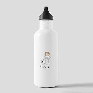 female audiologist Water Bottle
