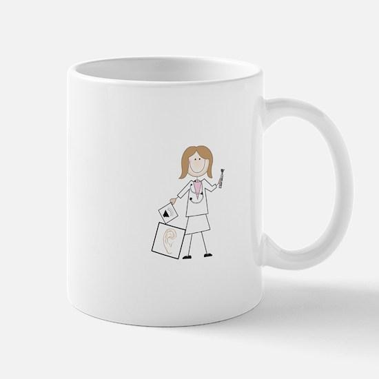 female audiologist Mugs
