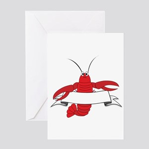 Lobster Greeting Cards