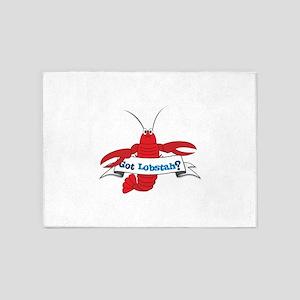 Got Lobstah? 5'x7'Area Rug