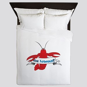 Got Lobstah? Queen Duvet