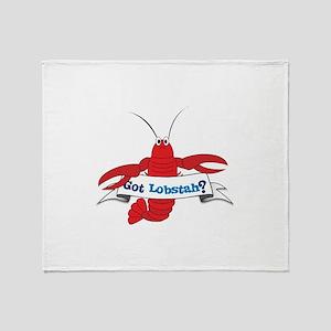 Got Lobstah? Throw Blanket