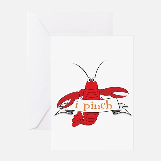 i pinch Greeting Cards