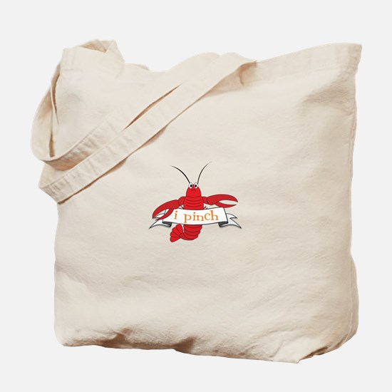 i pinch Tote Bag