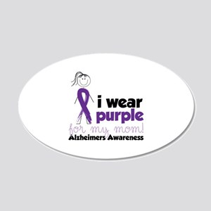 I Wear Purple For My Mom!Alzheimers Awarness Wall