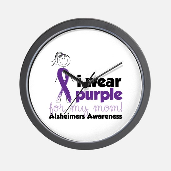 I Wear Purple For My Mom!Alzheimers Awarness Wall