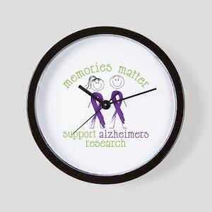 Memories Matter Support Alzheimers Research Wall C