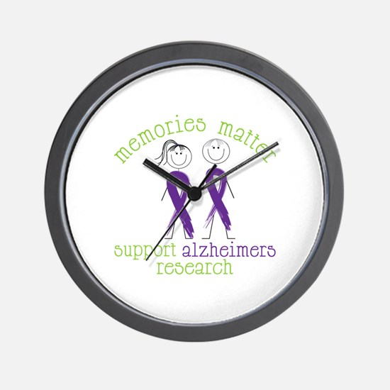Memories Matter Support Alzheimers Research Wall C