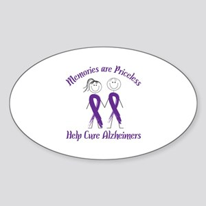 Memories are Priceless Help Cure Alzheimers Sticke