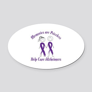 Memories are Priceless Help Cure Alzheimers Oval C