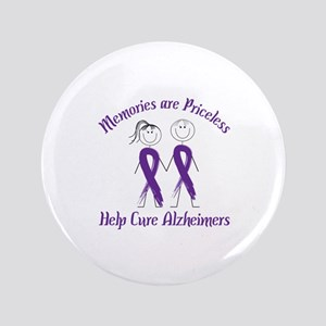 """Memories are Priceless Help Cure Alzheimers 3.5"""" B"""