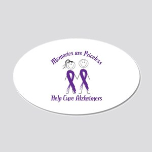 Memories are Priceless Help Cure Alzheimers Wall D