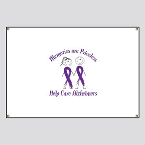 Memories are Priceless Help Cure Alzheimers Banner